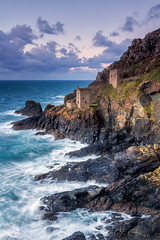Botallack Mines [In Explore 2/12/17] (Rich Walker75) Tags: botallack mines cornwall seascape seascapes landscape landscapes landscapephotography landmark landmarks ocean water rock cliffs sky cloud clouds england greatbritain canon efs1585mmisusm eos100d eos
