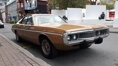 Dodge Coronet, Montréal (marcusguay) Tags: mopar dodge coronet dodgecoronet montreal oldcar autoancienne voitureancienne sedan coche cocheantiguo