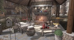 Give Thanks (The Eclectic Home) Tags: gallandhomes fameshed ultra ultraevent revival fall autumn homeandgarden landscape trees secondlife cabin vespertine littlebranch hive peaches halfdeer uber decocrate zerkalo fancydecor whatnext merak etnia bluesky