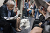 underdogs 6 (jrockar) Tags: london underground tube city urban dogs transport tfl people candid moment instant decisive jrockar janrockar idiot underdogs fuji fujix fujifilm x100f dog street streetphoto streetphotography documentary photo photography