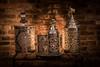 Colonial Tin Lanterns (Frank C. Grace (Trig Photography)) Tags: ldhouse lafayettedurfeehouse tin tinner lantern fallriver massachusetts newengland ldh fireplace candle