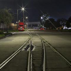 west oakland ghost rails (eb78) Tags: ca california oakland eastbay npy nightphotography longexposure ue urbex urbanexploration ghostrails railroad traintracks abandoned
