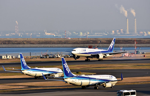 ANA JA55AN, Boeing 737-881 at HND