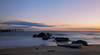 Evening on the Rocks (forbidden0907) Tags: coneyisland nature ocean sunset beautiful newyork beach cloud sky