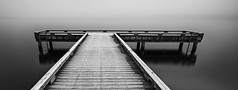 States of Matter (sunrisesoup) Tags: ice water fog lakewashington madronabeach seattle longexposure monochrome bw dock frost a7r¡¡¡ a7r3 1635 moonlight morning sony wa usa a7riii