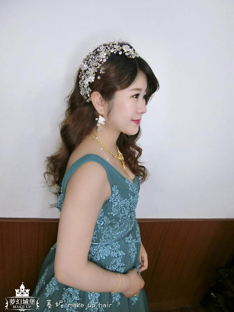 【新秘蓁妮】bride雅柔 結婚造型 / 台中自宅