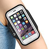 "Armband for iPhone 8/ 7/ 6/ 6S/ SE/ 5/ 5C/ 5S, and Galaxy S8/ 7/ 6, Google Pixel, by Wanshine, Water Resistant Sport Exercise Running Pouch Key Holder fit phone diagonal size up to 5.85""- Black (trolleytrends) Tags: armband black diagonal exercise galaxy google holder iphone phone pixel pouch resistant running size sport wanshine water"