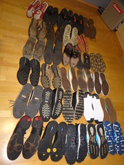 Meine Schuhe - My Shoes (Oli-unterwegs) Tags: adidas nike chucks skechers donnay dunlop josef seibel rieker bewild lloyd schuhe schuh shoes shoe old new sneaker sneakers man boy mann boots stiefel meine dirty sohle sohlen soles sole air max airmax vision used getragen