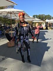 LinkedIn Halloween 2017 (Howard Narvaez) Tags: linkedin halloween costume woman lacalaveracatrina diadellosmuertos skeleton