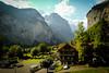 The Valley II (Serious Andrew Wright) Tags: switzerland lauterbrunnen bern rivendell interlaken valley cliffs hotel horner jungfrau summer