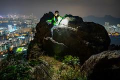 Kowloon Peak (Ian Ho Hiking) Tags: hongkongnighthike kowloonpeak