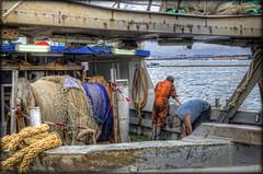 Cagliari .....e dintorni #9 (celestino2011) Tags: persone uomini lavoro barca cordame mare cagliari hdr