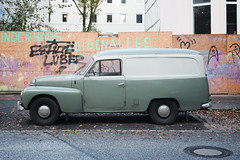 Old Volvo by Rainer Hamburg -