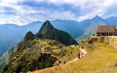 Machu Picchu and the Guard House, Urubamba, Peru (Aethelweard) Tags: cuzco peru pe machupicchu mountain valley sacred ancient history historic beautiful stunning breathtaking inca incan river sky terrace house guard colourful colorful efs1018mmf4556isstm canon 760d eos