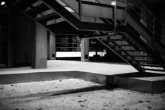 Nantes de nuit (samuelparois) Tags: canon canonet ql19 fomapan 400 pushed black white monochrome film analog 35mm argentique pellicule nantes street streetshot streetphotography noir blanc night light nuit