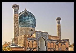 Samarqand UZ -  Gur-e-Amir Mausoleum 11