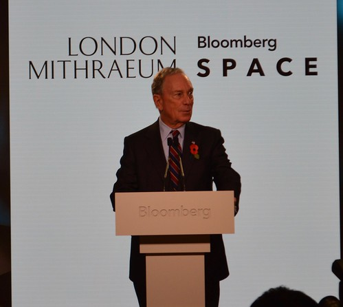 Michael Bloomberg opens Temple of Mithras