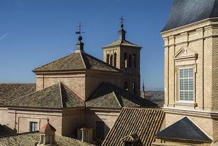 Tejados de la Iglesia de San Ildefonso (Jesuitas)