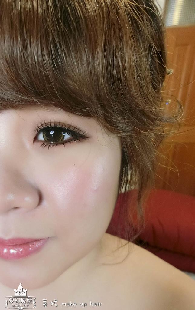 【新秘蓁妮】bride雅柔 訂婚造型 / 豐原儷宴會館