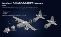 C-130 Base Model (Kurt's MOCs) Tags: lego ldd moc kurtsmocs lockheed c130 hercules yc130 mc130e stars hc130 lc130 c130k ec130 c130t maffs kits variants etsy assembly c130h combat talon