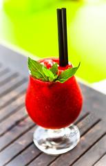 Strawberry Daiquiri (Matilda Diamant) Tags: rusalka latvia liepāja baltic holiday latvian strawberry daiquiri cocktail drink