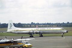 EI-BGO Canadair CL-44-44D4-1 Aer Turas Dublin (dignam.martin) Tags: eibgo canadair cl4444d41 aer turas dublin aerturas cl44 prop turboprop dubinairport old