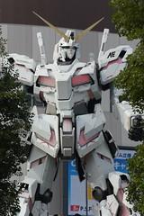 tokyo6419 (tanayan) Tags: urban town cityscape tokyo japan nikon v3 東京 日本 gundam unicone daiba 台場 ガンダム rx0 unicorn statue