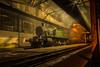Western Steam on shed (Nimbus20) Tags: greatwestern gwr prairie tankengine 4144 didcot oxfordshire loco steam night smoke late alone cold dark