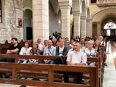 11 - Zarándokok a Szent Katalin templomban / Pútnici v Kostole sv. Kataríny