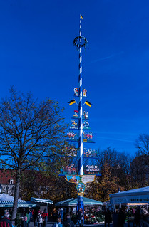 Maypole in the blue
