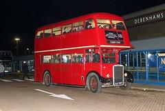 LLU 957 London Transport RTW467 Leyland Titan PD2 Lakeside David Heath (focus- transport) Tags: ensignbus vintage bus running day 2017 london buses transport lte aec routemaster regal regent mcw metropolitan leyland fleetline titan pd2 green line