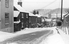 Old Town (Maintained by Matthew Bigwood) Tags: briancandy wottonunderedge monochrome 35mm film snow 1963 gloucestershire briancandyphotographicarchive