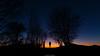 Fading light (Nicola Pezzoli) Tags: colors sunset sky firesky blue italy bergamo leffe peia poiana val gandino seriana nature gradient orange silhouette man tiny plants mountain