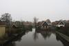 Indijk, Hindeloopen (Stewie1980) Tags: hindeloopen friesland hylpen fryslân nederland netherlands indijk gracht kanaal yndyk canal historic houses view mist fog