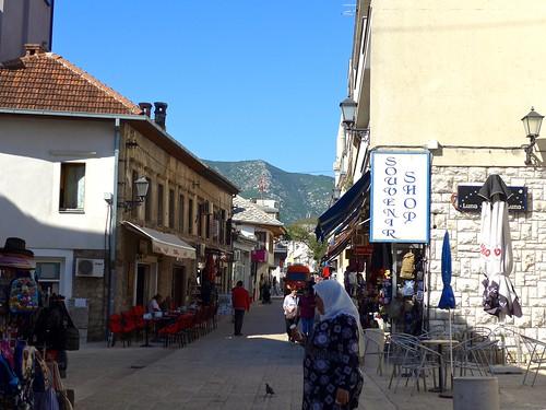A street in Mostar
