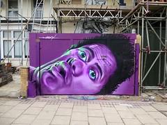 squashed face in Penge (woskerski methyl) Tags: woskerski wall wosker ethyl realism uk urban ukstreetart ukgraffiti urbanart mural hoarding paint painting photorealistic portrait art artist abstract against faceagainstglass faceagainstthewindow spray street streetart sprayart sciana squashed face graffiti graff london londongraffiti londonstreetart londongraff londonart character penge purple