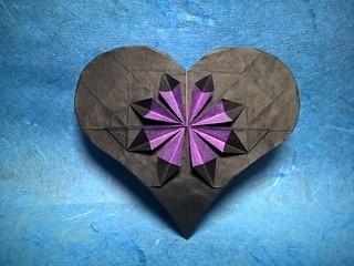 Flower in a Heart (A. Lukyanov)
