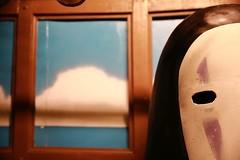 No-Face (superzookeeper) Tags: 5dmk4 5dmkiv canoneos5dmarkiv ef2470mmf28liiusm eos digital street taiwan formosa taichung nekobus catbus noface night studioghibli bokeh tw busstop totoro train spiritedaway