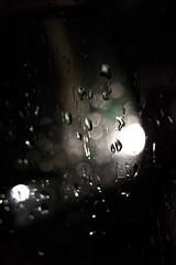 Rain again and again ... (julien Mnr) Tags: cars détail europe france lille nordpasdecalais reflect reflets urbain voitures véhicules urban nord french français photographie photography photo canon eos 700d ef 40mm f28 stm abstract abstrait bokeh detail nuit night nocturne light lumière dark darkness ombre sombre reflection glass vitre pluie rain goutte eau water miror