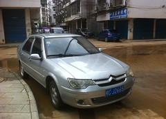 Citroën C-Elysée (rvandermaar) Tags: citroën celysée citroëncelysée citroen china yangshuo guangxi zx elysée rvdm