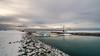 Islanda-140 (msmfrr) Tags: nuvole clouds water snow neve iceland islanda landscape panorama lagoon iceberg jökulsárlón ghiaccio ghiacciaio glacier ice sea ponte bridge baia bay