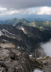 Summit (justin saunders) Tags: summit mountains hiking outdoors nature naturelovers landscape mission travel fresh clouds rocks snow view altitude mountainside sky sigma 1835 sigma1835 d7200 nikond7200 ngc