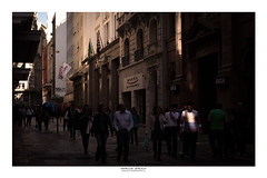 """[ An """"angel"""" on the street ] (Marcos Jerlich) Tags: street urban people walk streetphoto city architecture buildings light sunlight contrast november flickr 7dwf saopaulo brasil américadosul canon canont5i canon700d efs1855mm marcosjerlich"""