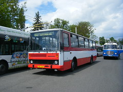 65th trolleybus anniversary at Pardubice (johnzebedee) Tags: transport publictransport event depot pardubice czechrepublic johnzebedee bus motorbus