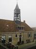 Sluishuis, Hindeloopen (Stewie1980) Tags: hindeloopen friesland hylpen fryslân nederland netherlands sluis sluishuis klokketoren sylhús house clock tower mist fog