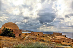 Forteresse Vénitienne (arno18☮) Tags: forteresse retymo grèce crète monuments mer cièl clouds nuages canon lumière ruines