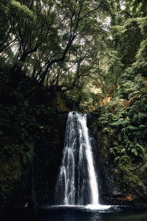 Acores Waterfall