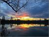lac-gigny (rebigil) Tags: coucher soleil beaune gigny lac