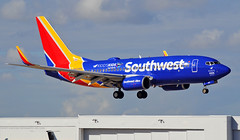 Kidd's Kids (Infinity & Beyond Photography) Tags: southwest airlines boeing 737 airliner kiddskids special scheme fll fort ft lauderdale n407wn