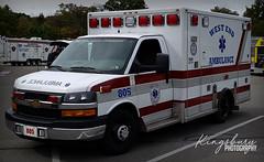 West End Ambulance (KingsburyPhotography) Tags: west end ambulance monroe county pennsylvania emt paramedic ems